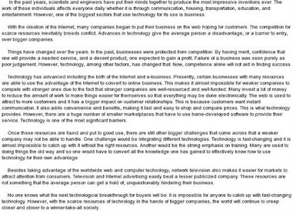advantages and disadvantages of modern technology essay pdf