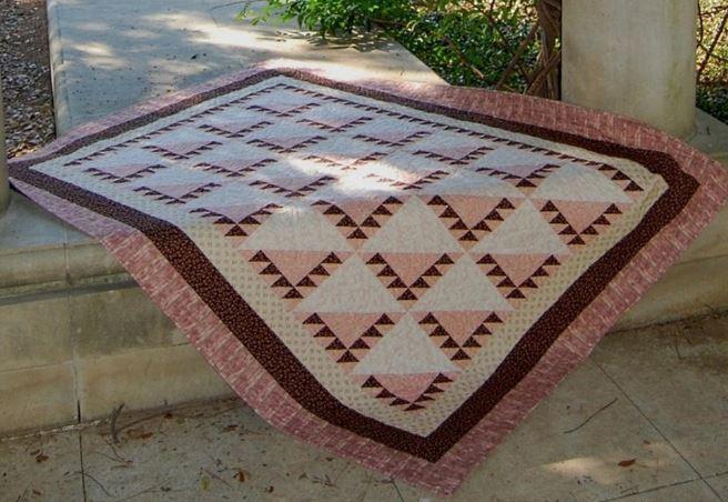 Craftsy.com - Sawtooth Quilt