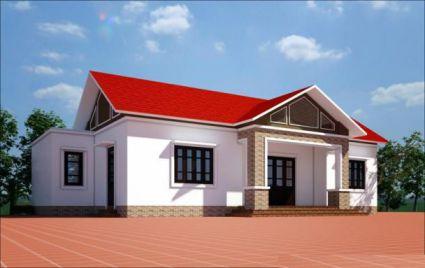 Đặc điểm của mẫu nhà mái tôn thái