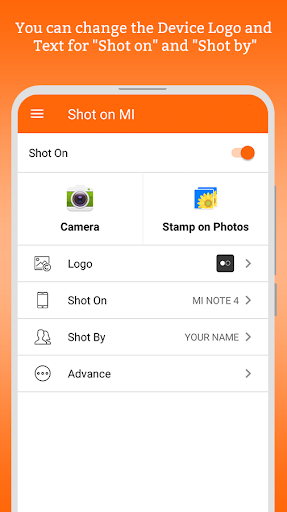 ShotOn for Mi: Auto Add Shot on Watermark on Photo- screenshot thumbnail