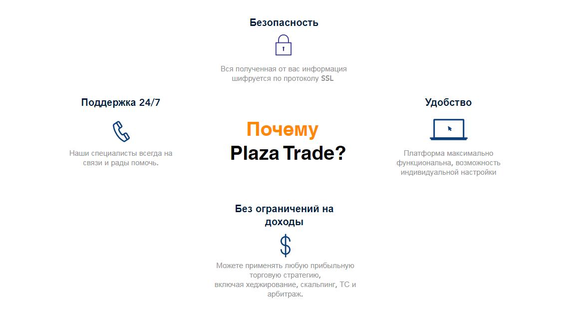 Обзор CFD-брокера Plaza Trade: особенности работы и анализ отзывов трейдеров