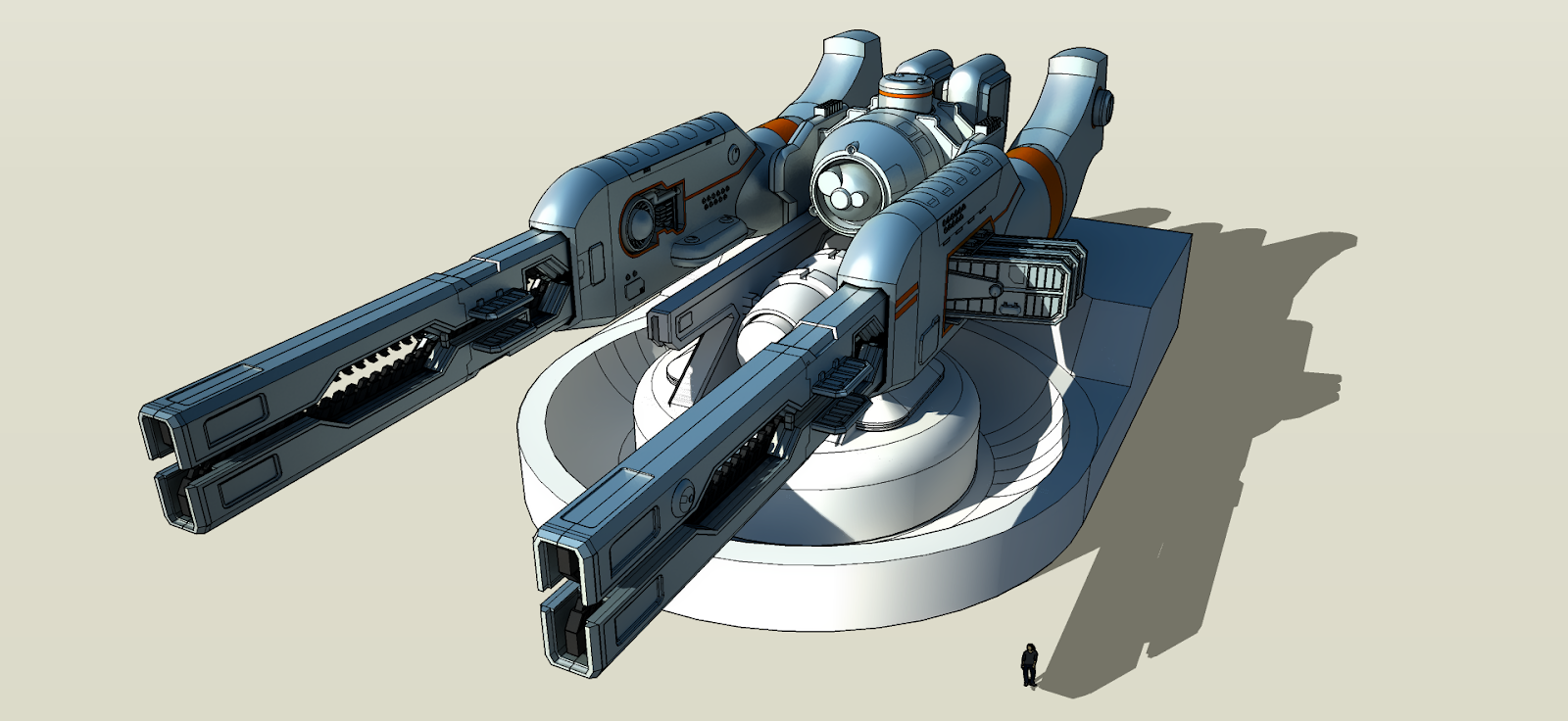 wip___dual_railgun_turret___2_by_freihei