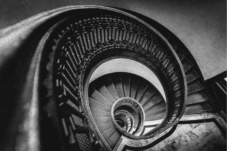 Escadaria - fica otimo para fotos em preto e branco