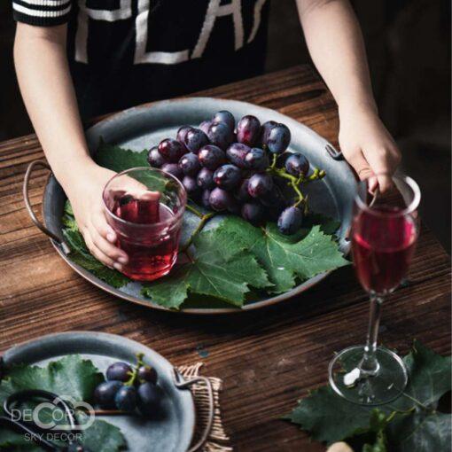 Đạo cụ chụp ảnh thực phẩm theo phong cách mộc mạc