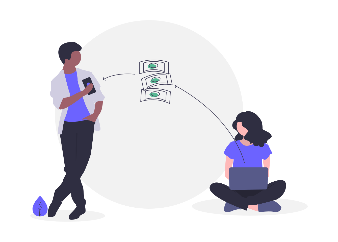 peer to peer lending transaction