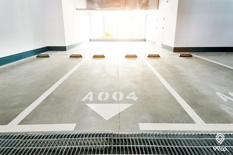 parkir apartemen