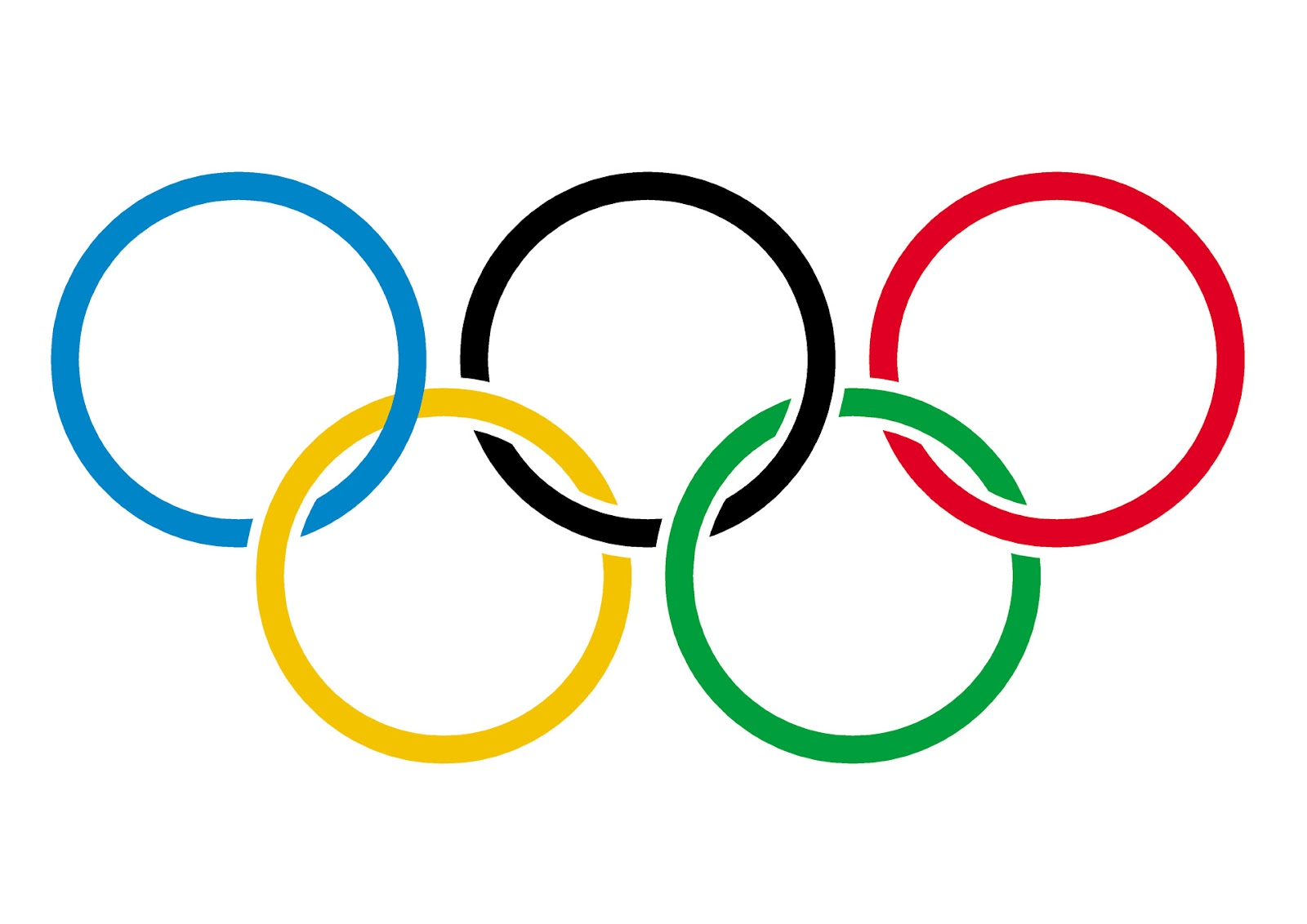 Olympic Rings 3 Free Stock Photo - Public Domain Pictures