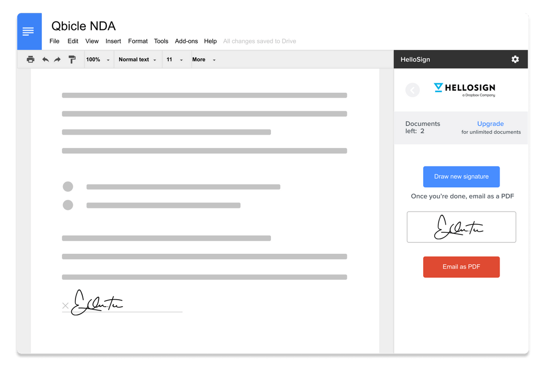 best electronic signature software for freelancers - hellosign
