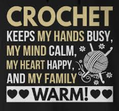 crochet stitches quote image