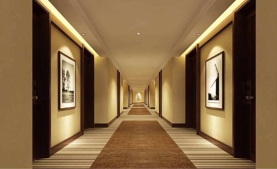 Hành lang thiết kế theo phong cách hiện đại