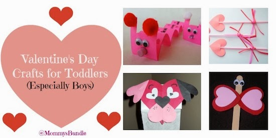 Valentine's Day Crafts for Toddlers (Especially Boys) by Mommy's Bundle