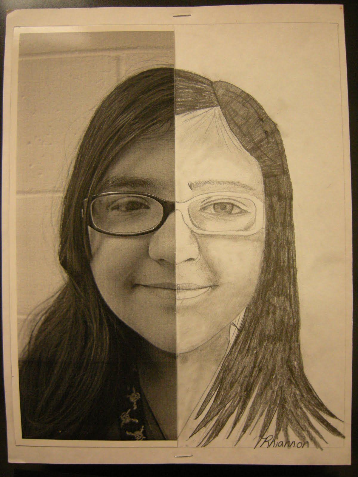Resultado de imagen de draw self portrait and oil