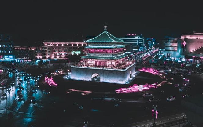 Xi'an, na China, é a cidade inicial de um megaprojeto ambicioso. (Fonte: Unsplash/Reprodução)
