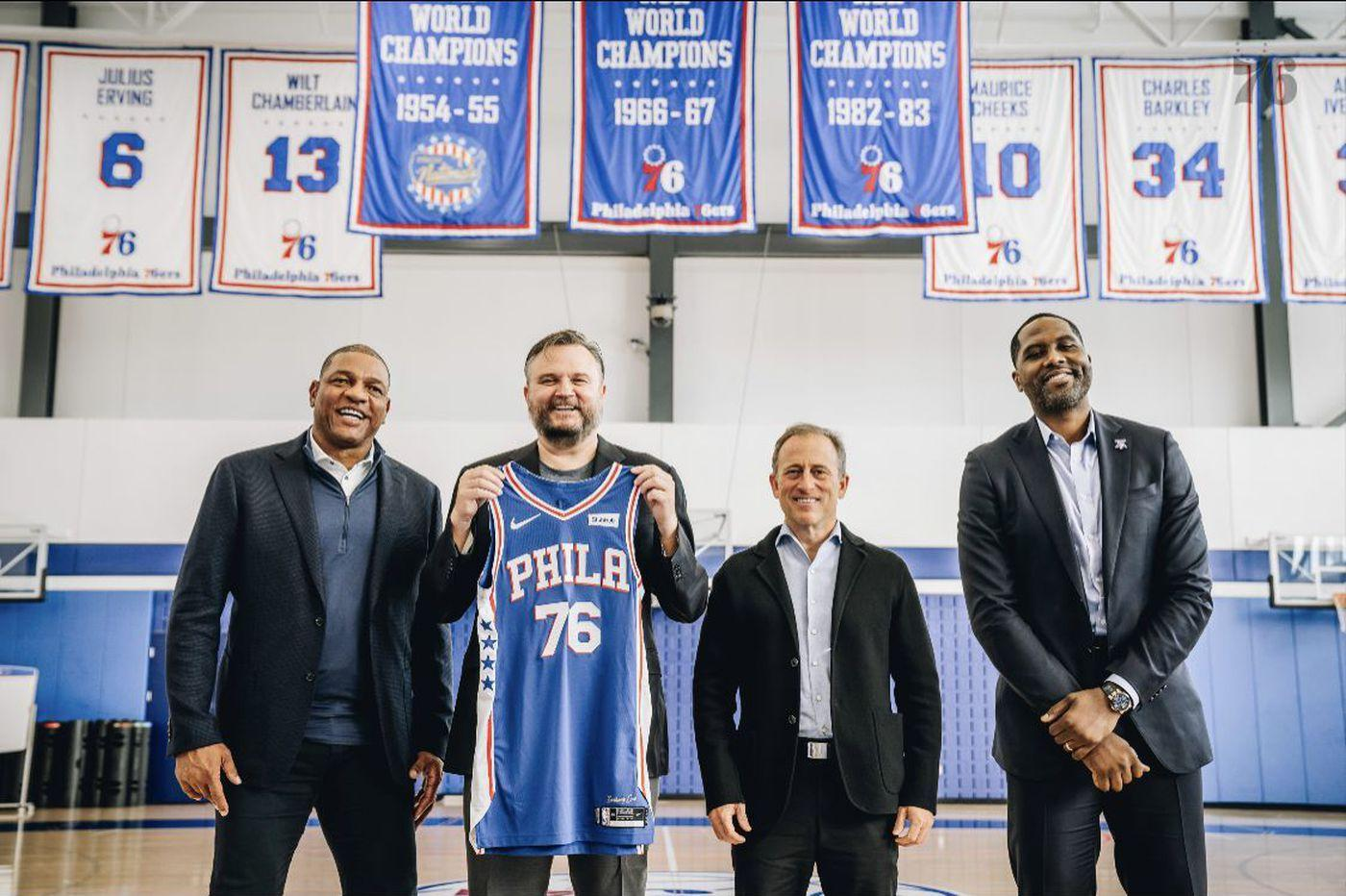 In his first day on the job, Daryl Morey showed why the Sixers hired him |