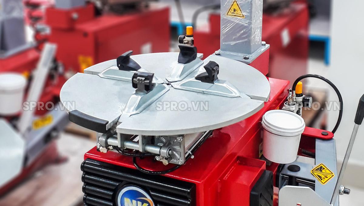 Máy tháo vỏ, ra vào vỏ xe tay ga, ô tô NK-318E bảo hành 2 năm, máy ra vào lốp giá rẻ