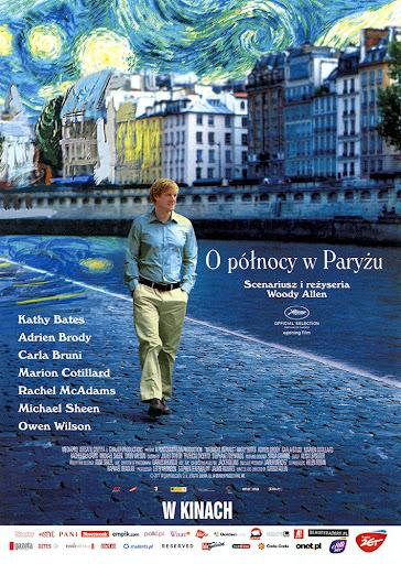 Przód ulotki filmu 'O Północy W Paryżu'