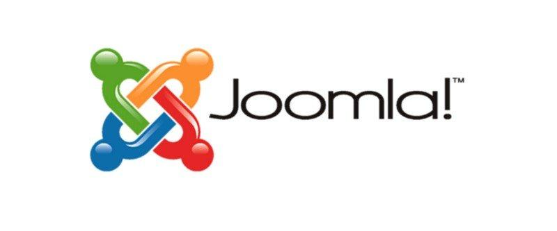 The logo of Joomla.