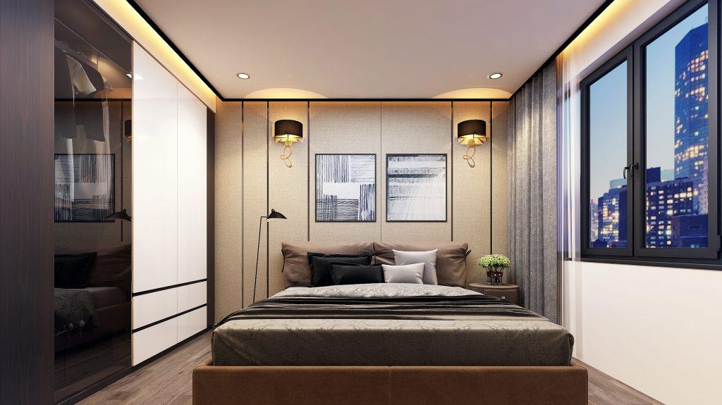 Lựa chọn nội thất phù hợp cho phòng ngủ chung cư nhỏ đẹp