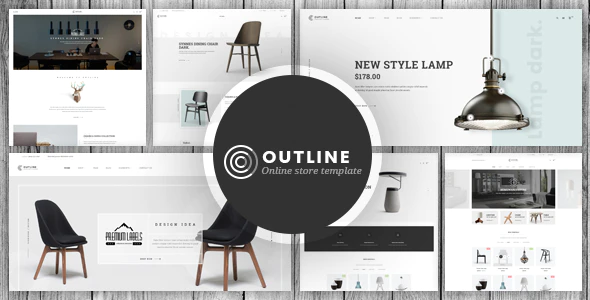 Opencart furniture theme outline