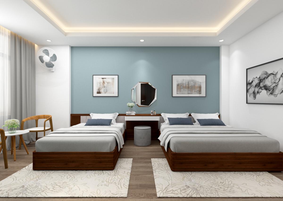 Thiết kế nội thất khách sạn theo phong cách hiện đại