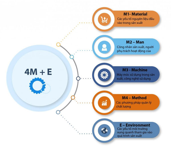 Mô hình 4M+E