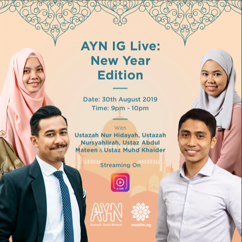 Asatizah Youth Network Instagram live for Awal Muharram