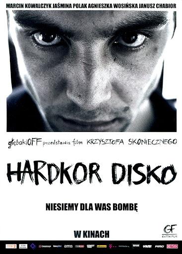 Przód ulotki filmu 'Hardkor Disko'
