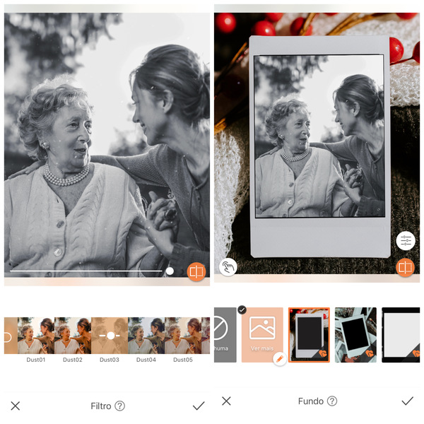 fotos com mães