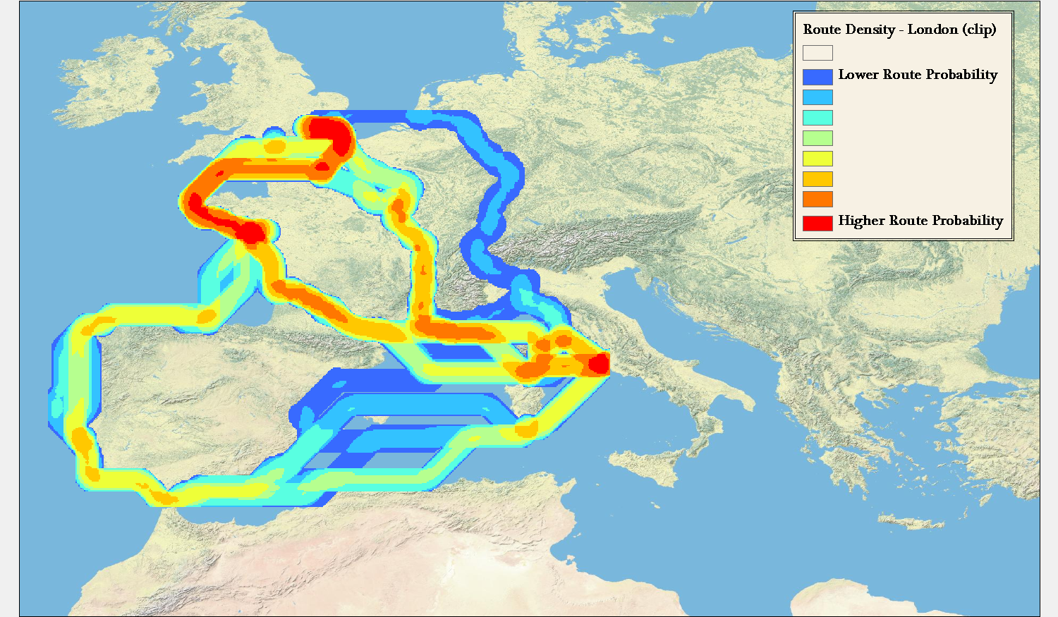 Possibility And Probability In Geospatial Information - Geography of rome