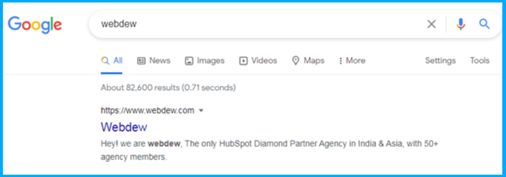 identify keywords that represent your brand