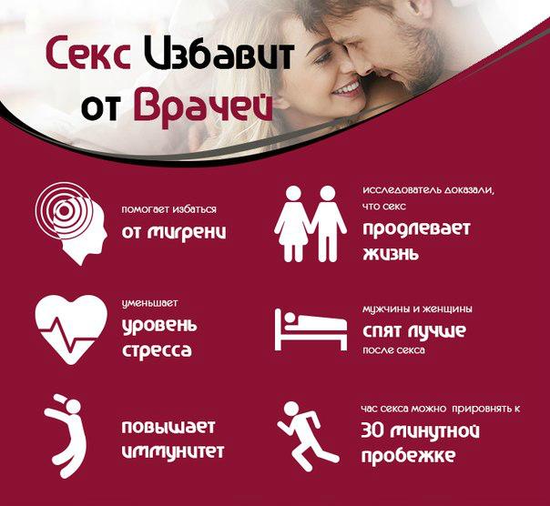Секс для здоровья у женщин