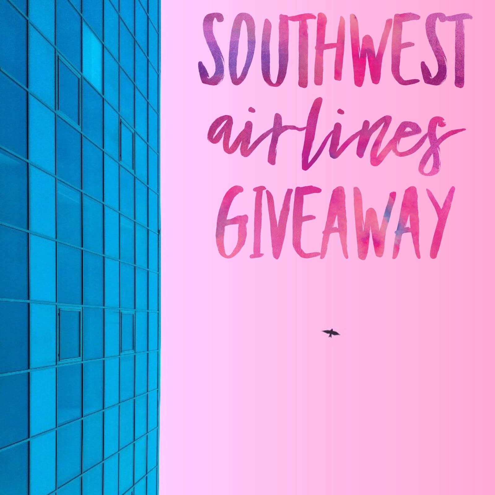 $150 Southwest Airlines Gift Card Giveaway