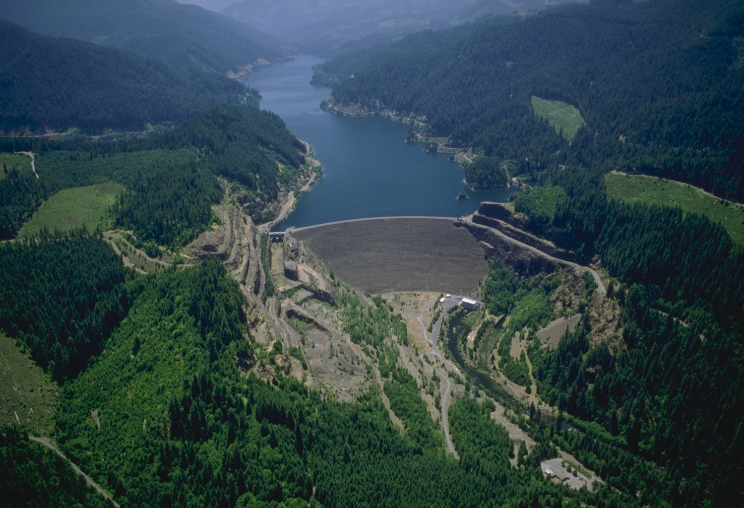 Cougar Dam Photo - Army Corps of Engineers