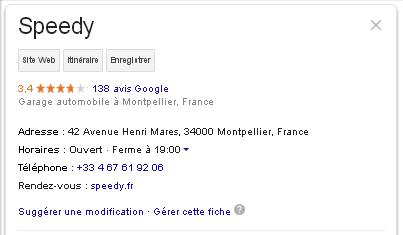 positionner un site internet dans les resultats de google recherche local