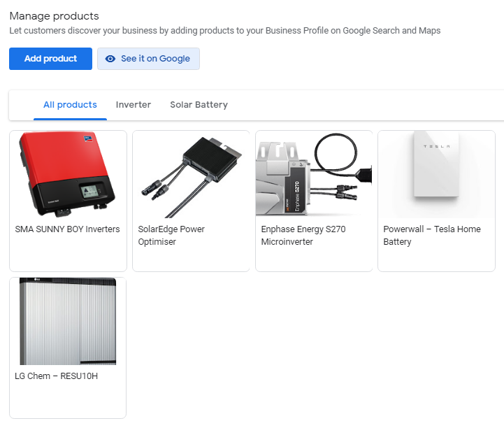 products-view-in-google