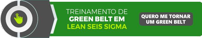 banner do treinamento de green belt em lean seis sigma