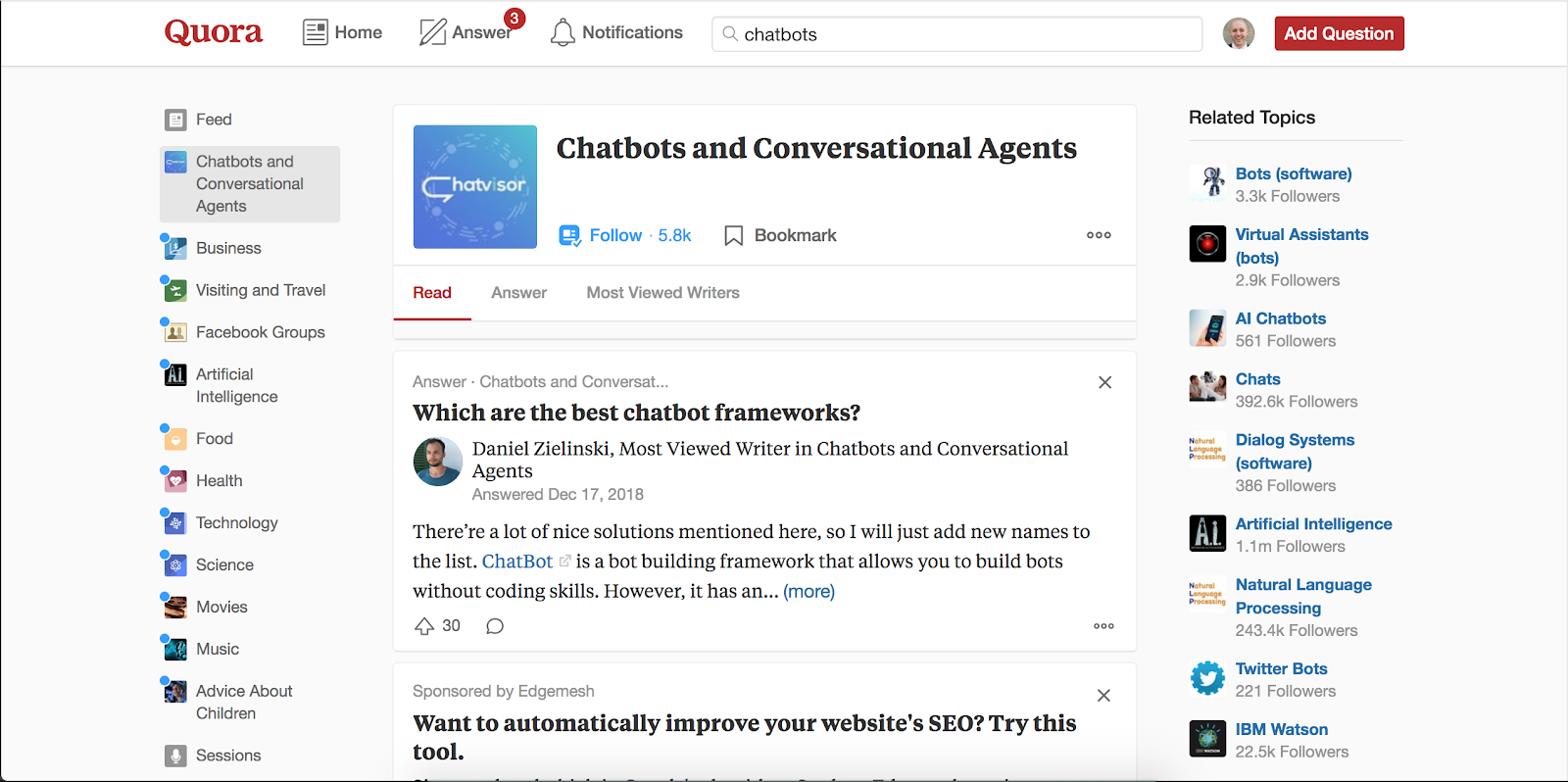 Quora | 10 Most Innovative Lead Generation Tools for 2019
