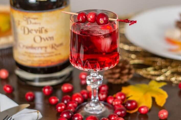 Cranberry Spritz by Stillwagon Distillery