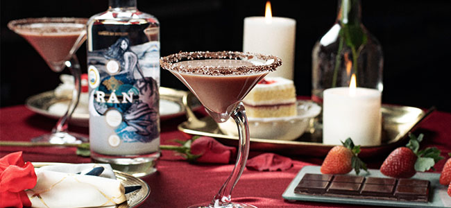 A Luscious Valentine's Cocktail by Chambers Bay Distillery