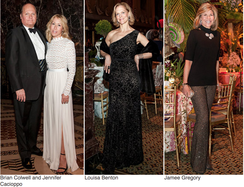Karen Klopp, Hilary Dick article for New York Social Diary, What to wear to a black tie gala for Lenox Hill Neighborhood Association.   Brian Colwell Jennifer Caclappo,louisa Benton, Jamee Gregory