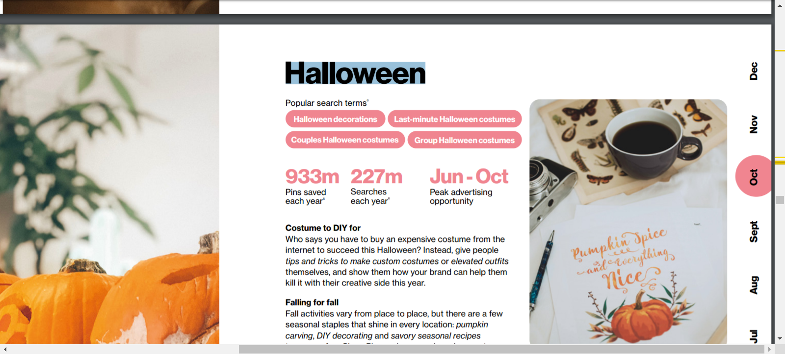 how to find halloween blog post ideas from pinterest trends