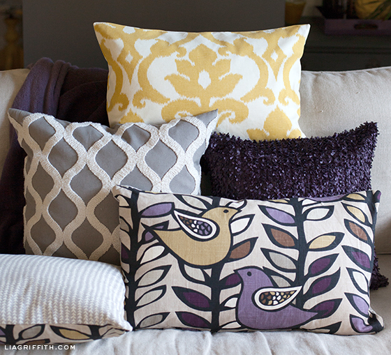Make Throw Pillow Cover Without Sewing : Decorate Your Home With Things You Already Have - HotPads Blog