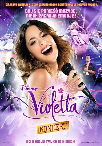 Polski plakat filmu 'Violetta: Koncert'