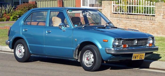 Honda Civic โฉมแรก ปี 1972–1979