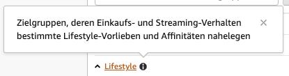 Amazon-Zielgruppe:-Lifestyle