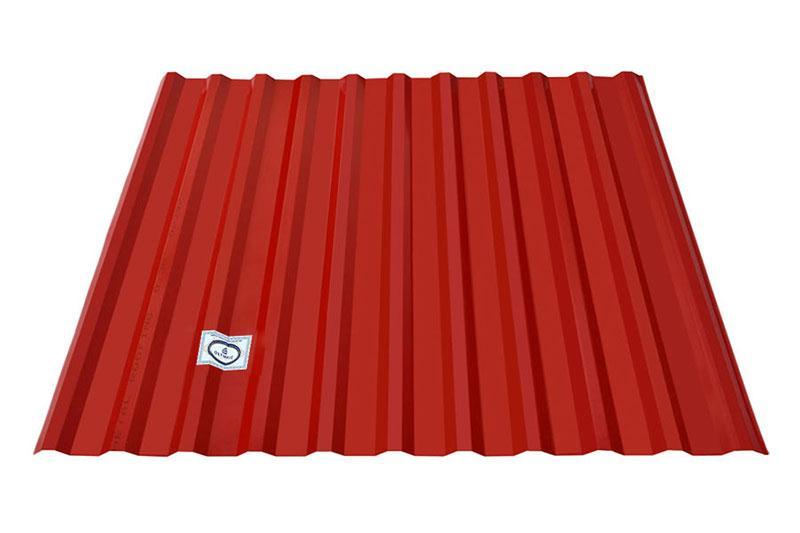 Tôn Olympic màu đỏ đậm với vẻ đẹp thu hút và hiện đại