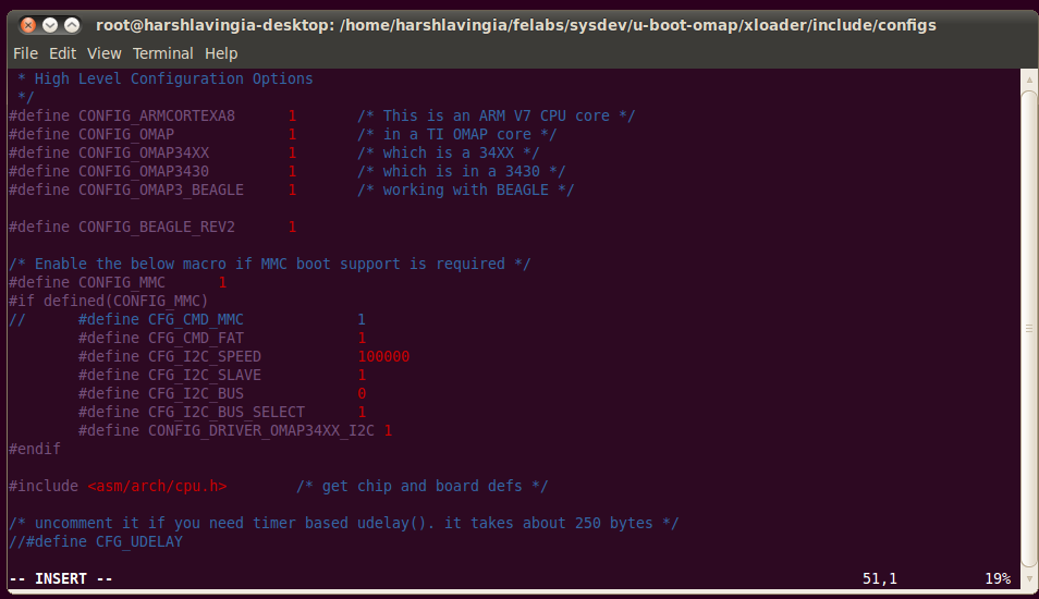 Lab3 - Configuration and Compilation of U-Boot & X-Loader
