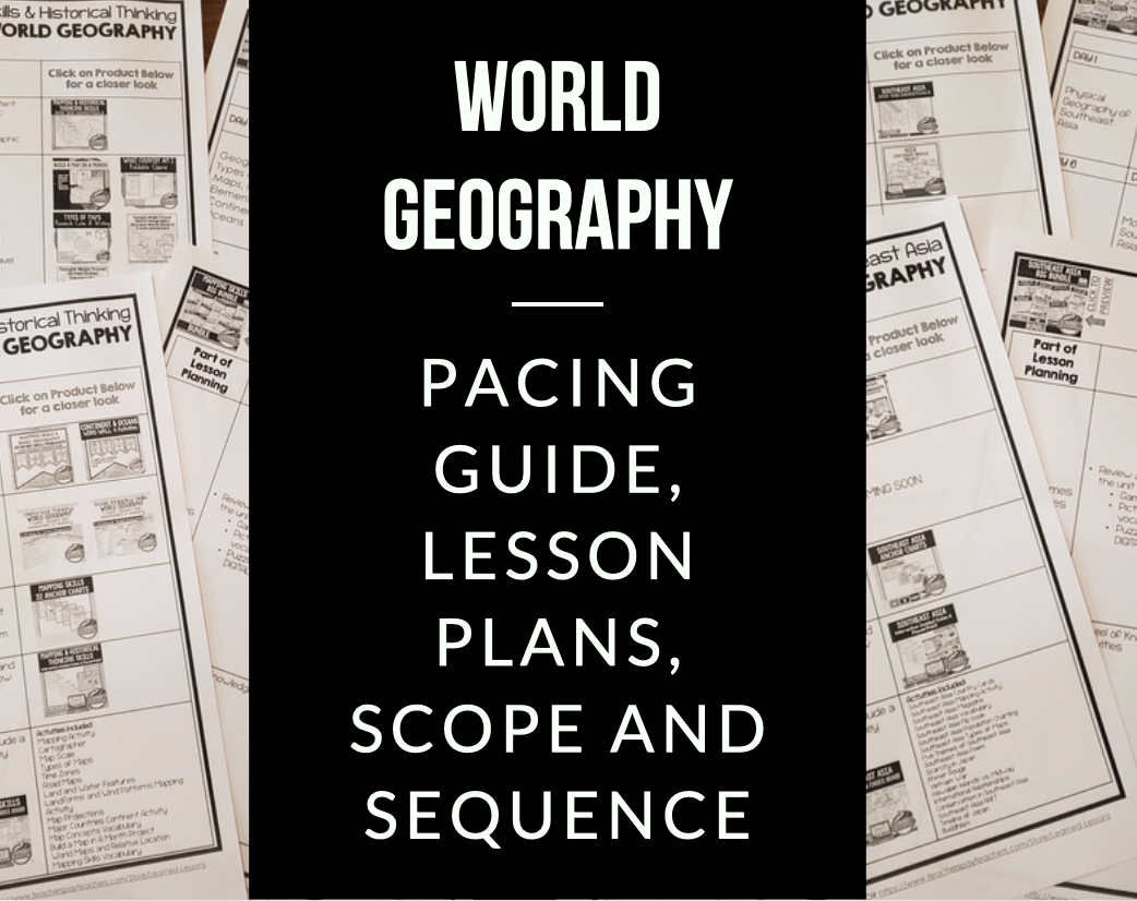 World Geography Lesson Plans, Mapping Skills Lesson Plan Guides Five Themes of Geography Lesson Plan Guides People and Resources Lesson Plan Guides Geography of the United States and Canada Lesson Plan Guides Geography of Latin America Lesson Plan Guides Geography of Europe Lesson Plan Guides Geography of Russia Lesson Plan Guides Geography of the Middle East and North Africa Lesson Plan Guides Geography of Sub-Saharan Africa Lesson Plan Guides Geography of East Asia Lesson Plan Guides Geography of South Asia Lesson Plan Guides Geography of Southeast Asia Lesson Plan Guides Geography of Australia Lesson Plan Guides