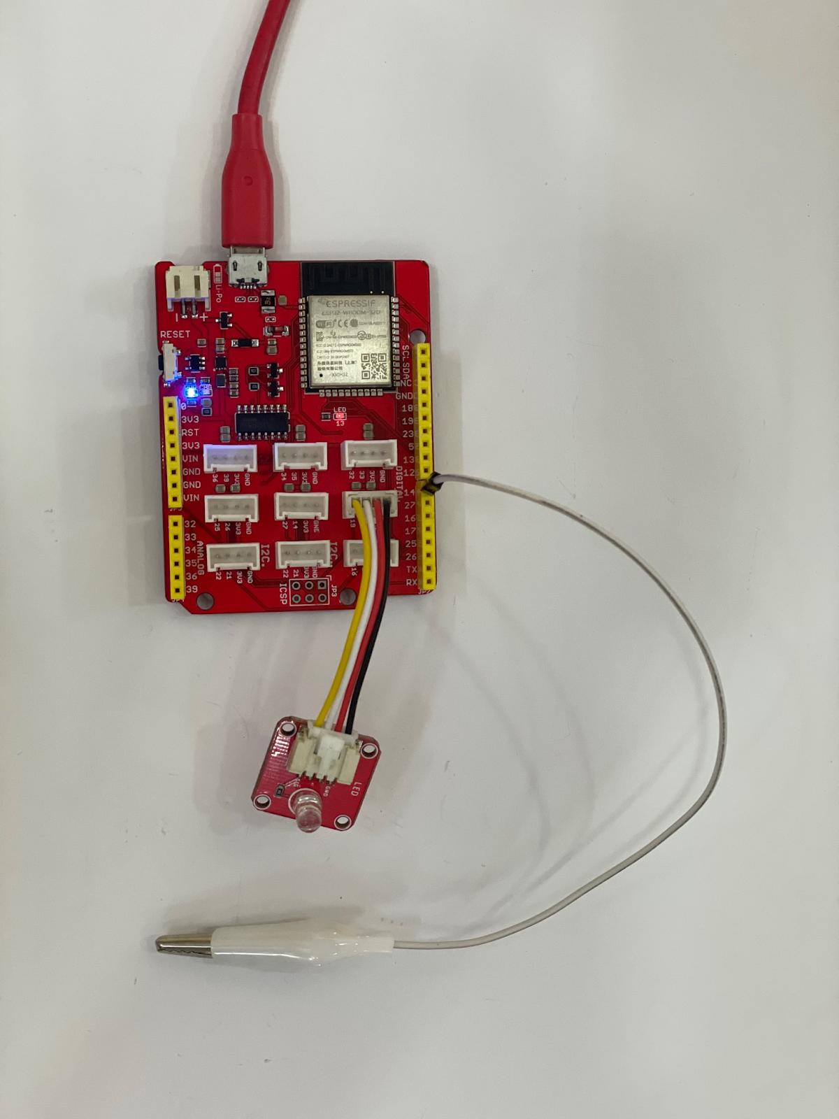 Điều khiển đèn led ESP32