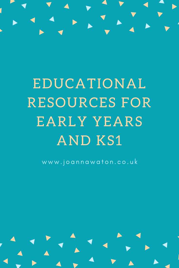 Homeschool resources for Early Years and Key stage 1
